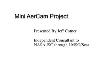Mini AerCam Project