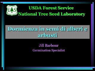 Dormienza in semi di alberi e arbusti