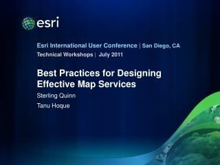 Best Practices for Designing Effective Map Services