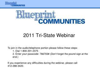 2011 Tri-State Webinar