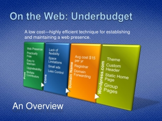 On the Web- UNDERBUDGET