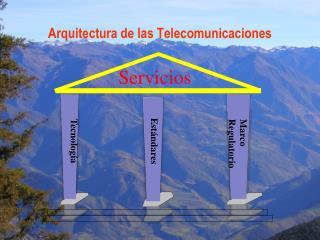 Arquitectura de las Telecomunicaciones