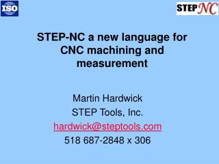 STEP-NC a new language for CNC machining and measurement
