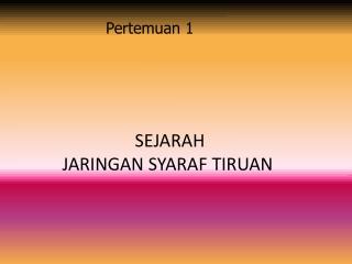 Jaringan Syaraf Tiruan _ Fredy . A.Sihombing