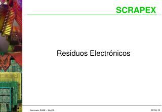 Residuos Electr nicos