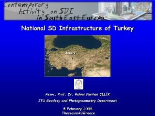 National SD Infrastructure of Turkey