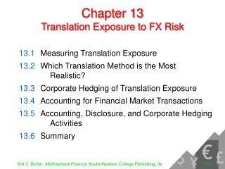 Chapter 13 Translation Exposure to FX Risk