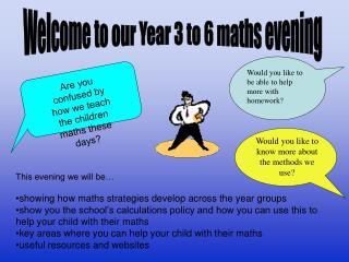 Mental maths games