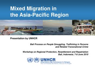 Mixed Migration in  the Asia-Pacific Region