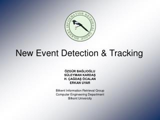 New Event Detection  Tracking