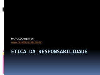 TICA DA RESPONSABILIDADE