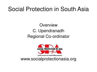 Social Protection in South Asia