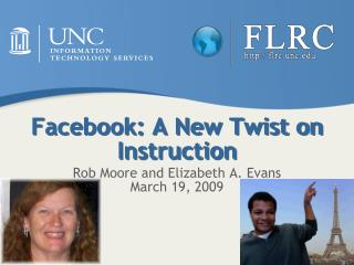 Facebook: A New Twist on Instruction