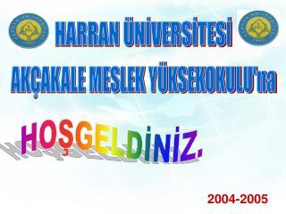 HARRAN  NIVERSITESI