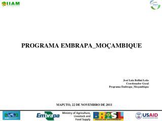 PROGRAMA EMBRAPA_MO AMBIQUE