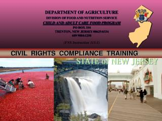 CIVIL  RIGHTS  COMPLIANCE  TRAINING
