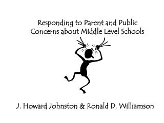 Responding to Parent and Public Concerns about Middle Level Schools