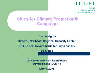 Cities for Climate Protection  Campaign