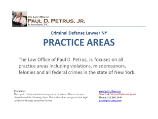 NY Criminal Defense Attorney | Federal Crime