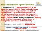 Lodha Bellezza @09999620966 Eden Square Hyderabad