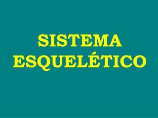 SISTEMA ESQUEL TICO