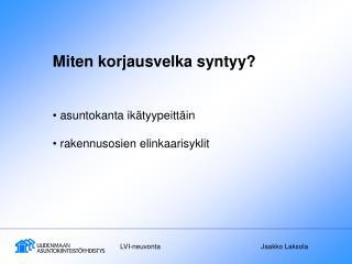 LVI-neuvonta   Jaakko Laksola