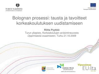 Bolognan prosessi: tausta ja tavoitteet korkeakoulutuksen uudistamiseen