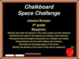 Chalkboard  Space Challenge