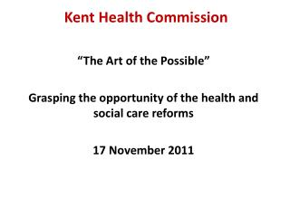 Kent Health Commission
