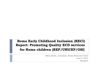 Child poverty and child well-being indicators in comparative perspective