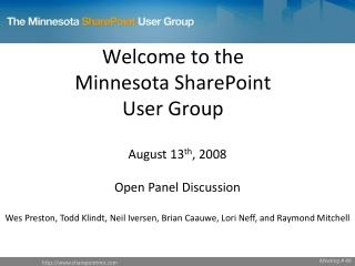 Minnesota Silverlight User Group