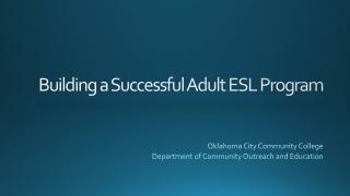 WHAT S A  SUCCESSFUL ESL