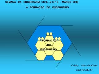 A   FORMA  O   DO   ENGENHEIRO