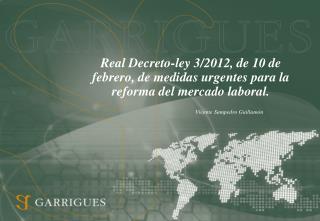Real Decreto-ley 3