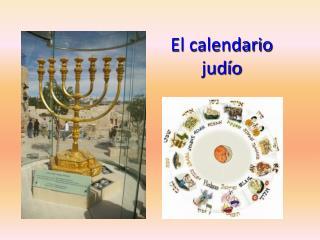 El calendario jud o