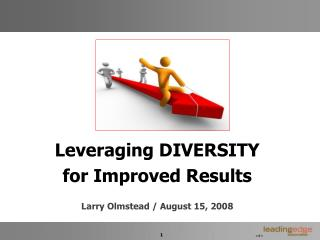 Leveraging DIVERSITY for Improved Results  Larry Olmstead
