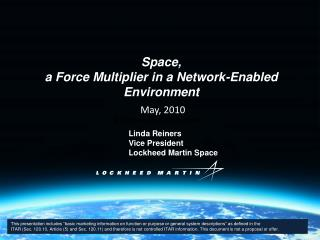 Space,  a Force Multiplier in a Network-Enabled Environment