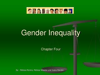 Gender Inequality      Chapter Four