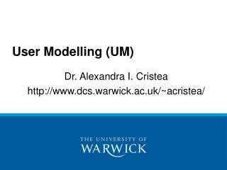 User Modelling UM
