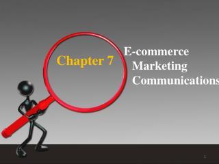 E-commerce Marketing Communications