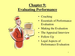 Chapter 9:  Evaluating Performance