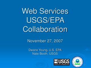 Web Services USGS