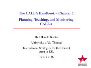 The CALLA Handbook   Chapter 5 Planning, Teaching, and Monitoring CALLA