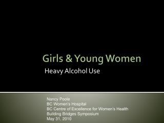Girls  Young Women