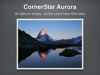 CornerStar Aurora