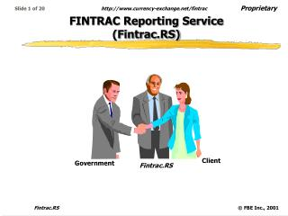 FINTRAC Reporting Service Fintrac.RS