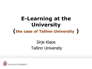 Towards eLearning as Processes