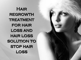 Hair regrowth treatment for hair loss and hair loss solution