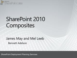 SharePoint 2010 Composites