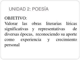 UNIDAD 2: POES A